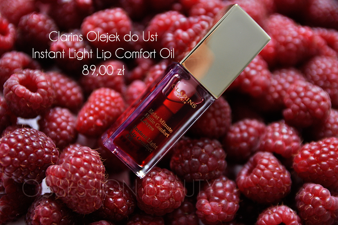 Clarins Instant Light Lip Comfort Oil 176 Red Berry
